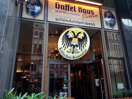 Gaffel Haus Berlin an der Friedrichstraße Picture of