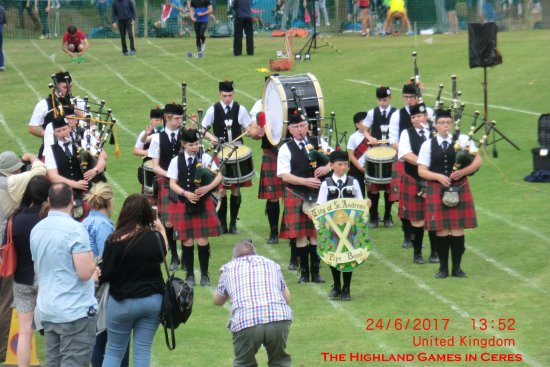 Ceres, UK: The St. Andrews music corps...