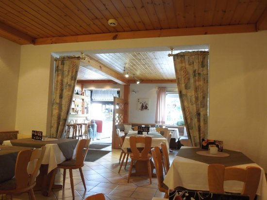 Wald-Michelbach, Tyskland: Im Restaurant
