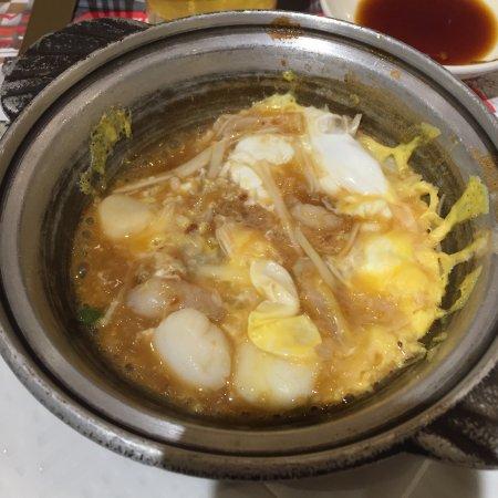 海鮮卵とじ(案外うまい)