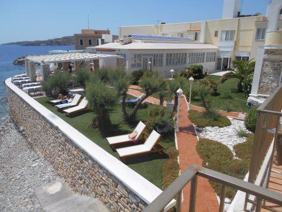 Corridoio interno hermes hotel - Il giardino sul mare ...