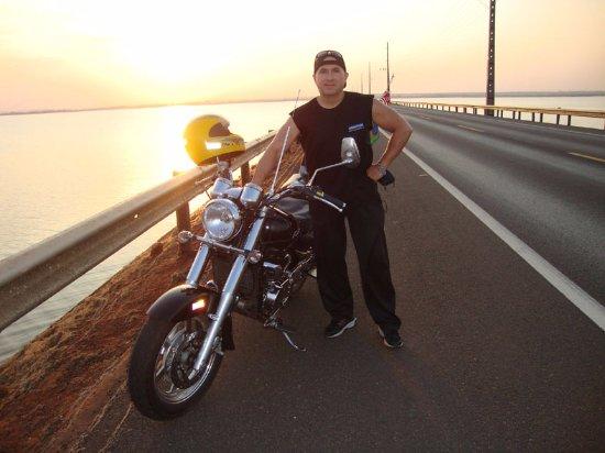 Helio Serejo Bridge: Várias vezes de moto daqui pra lá (MS) e de lá pra cá (SP).