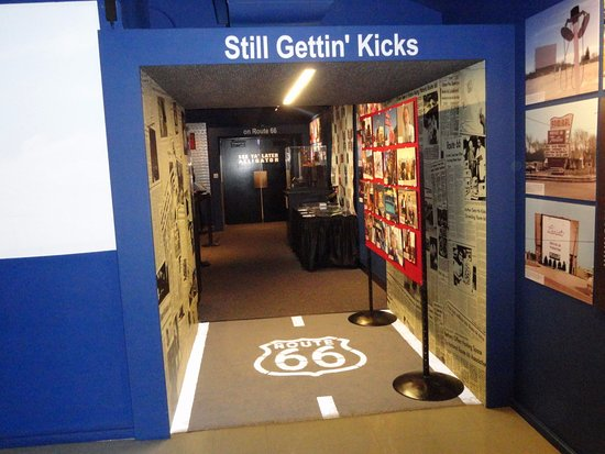 Oklahoma Route 66 Museum: Getting near the end