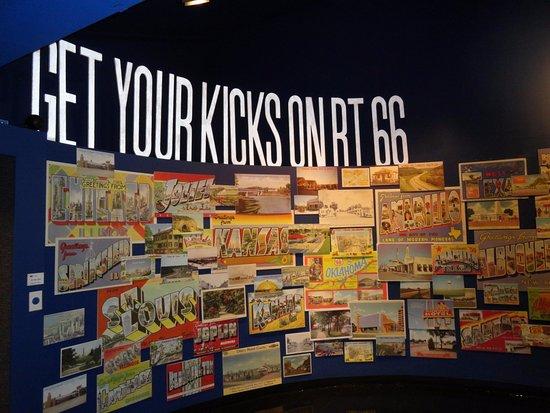 Oklahoma Route 66 Museum: Memorabilia all over