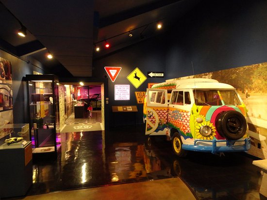 Oklahoma Route 66 Museum: The 60's on Rte 66