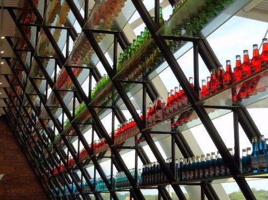 Arcadia, OK: Unreal display of sodas