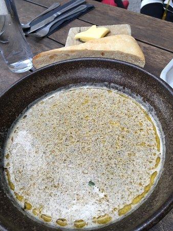 The Exeter Arms: Zuppa panna e funghi