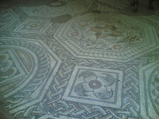 Jewry Wall Museum: Mosaic Floor.