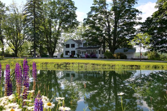 Newfield, Estado de Nueva York: Our small B&B is only 1 1/2 miles from Robert Treman Park and Lucifer Falls.
