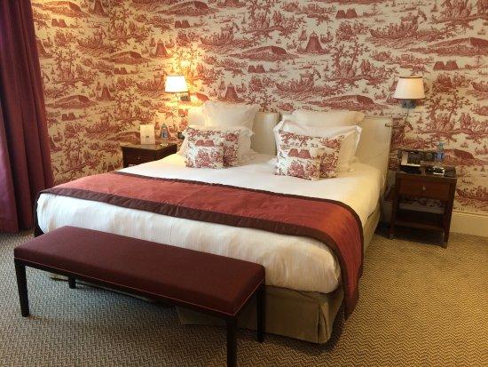Chambre Classique Normandy Barriere : Chambre du normandy photo de hôtel barrière le