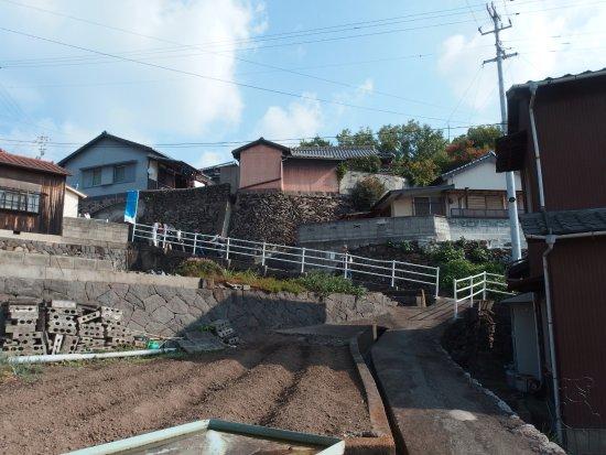 Kanonji, Japan: 道はすべて坂道