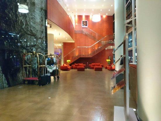 Hotel Dreams Araucania: la entrada