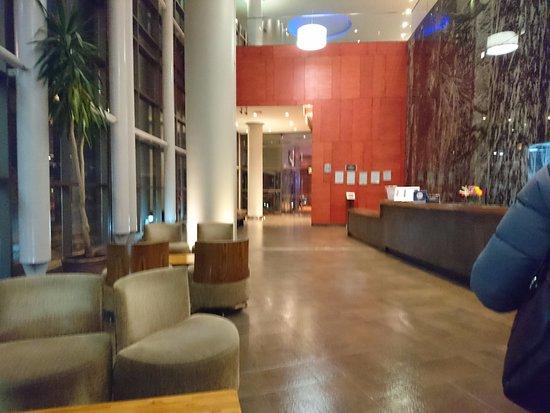 Hotel Dreams Araucania: el lobby