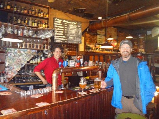 Biercafe Gollem: Daniel, awesome bartender!