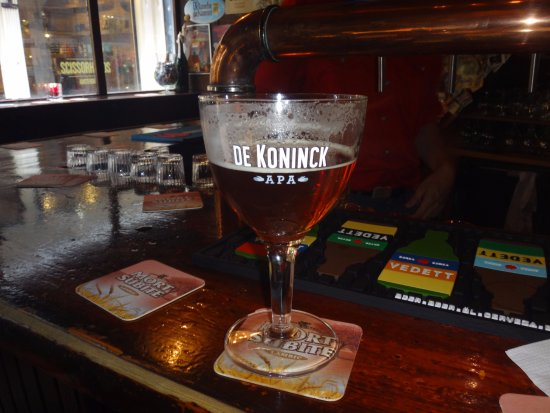 Biercafe Gollem: One of the many awesome beers!