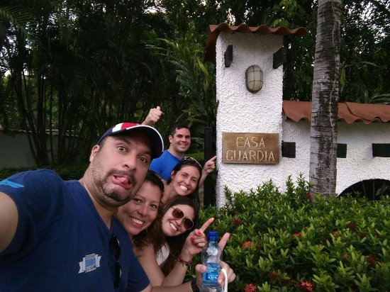 Casa Guardia Panama: Entrada a la posada