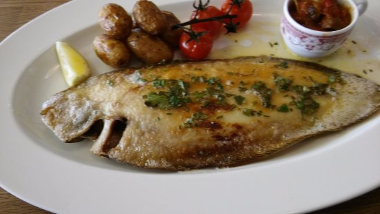 Hotel des Bains : SOLE COOKED IN BUTTER