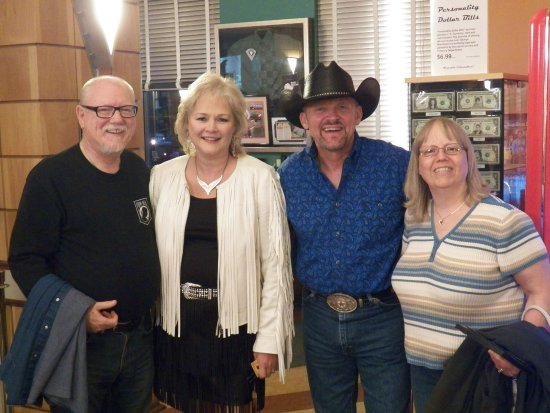 Branson, MO: We got to meet and speak with this great couple. They are as genuine in person as on stage.