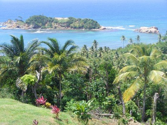 Calibishie, Dominica: Amazing views from veranda, they are totally breathtaking.