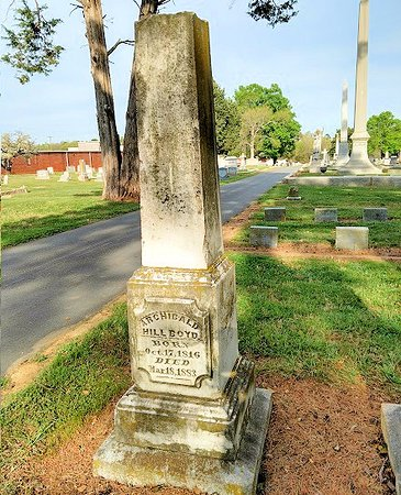 Graham, Carolina del Nord: historic cemetery