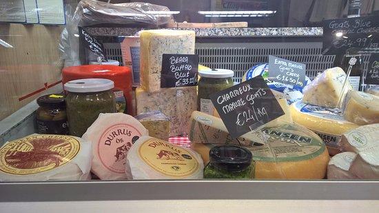 Manning's Emporium: Irish cheese cabinet.