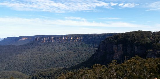 Echoes Restaurant - Blue Mountains : View from seating area...