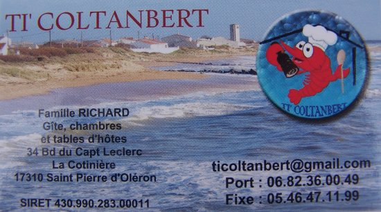 TiColtanbert Carte De Visite Ti Coltanbert