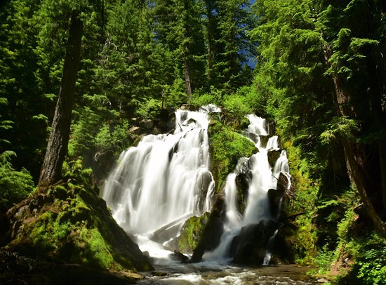 Prospect, Oregón: National Creek Falls