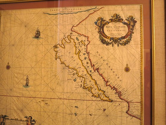 Map 0f California.Map Of California 1600s Picture Of California State Capitol