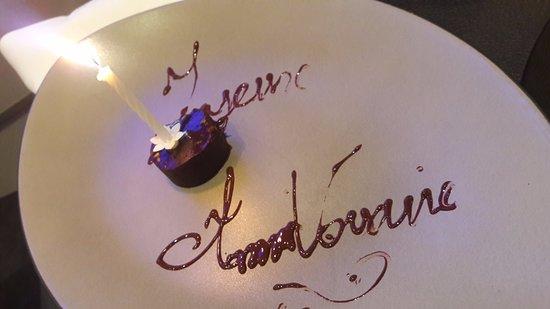 Une petite douceur photo de la table villeneuve d 39 ascq - Restaurant la table villeneuve d ascq ...