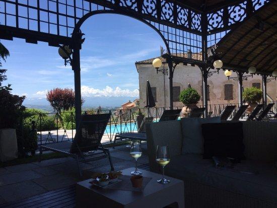 Unter Der Laube Im Garten Picture Of Hotel Villa Beccaris