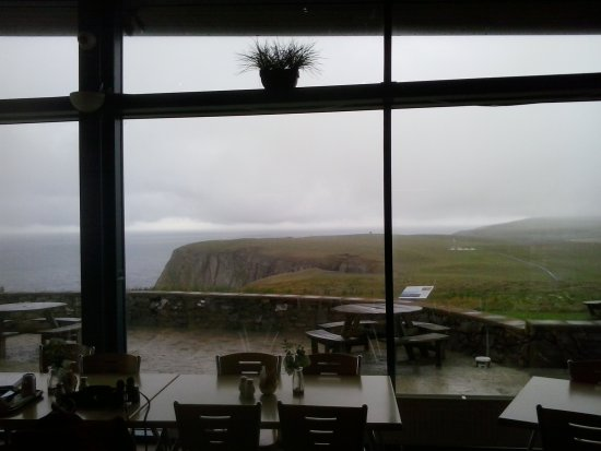 Mull of Galloway, UK: View from cafe
