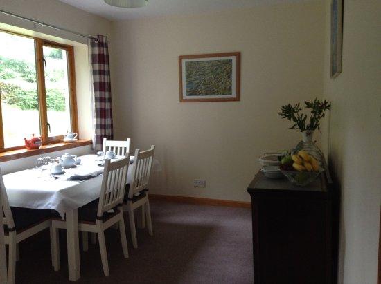 Tayvallich, UK: Breakfast room