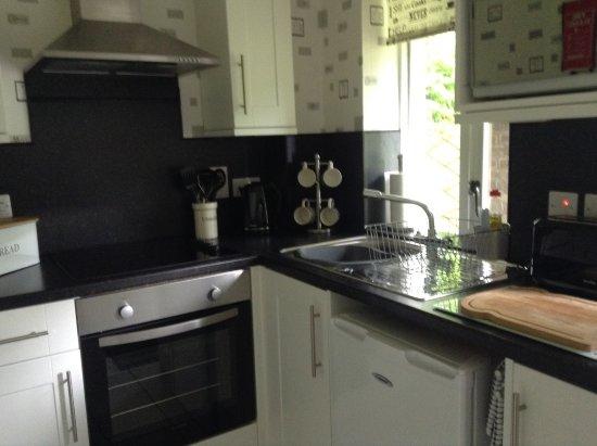 Tayvallich, UK: Kitchen