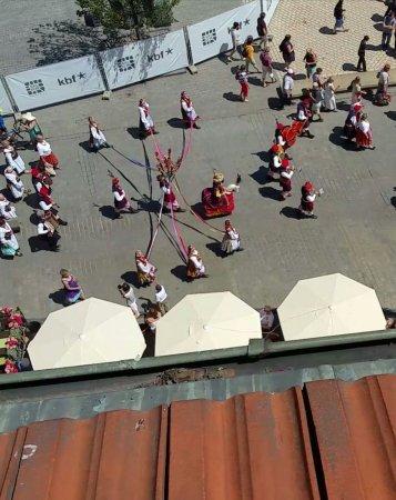 Hotel Wentzl: Lajkonik parade (local tradition)