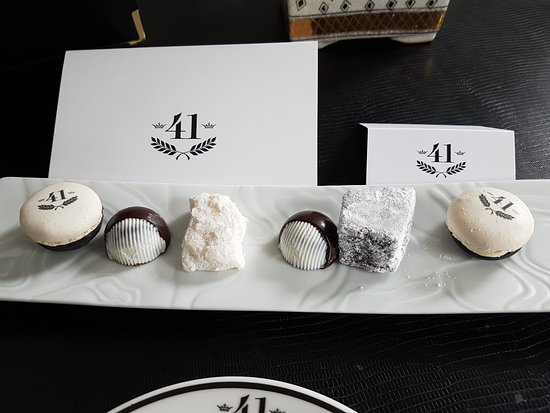 Hotel 41: In room treats