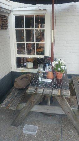 The Ship Inn Restaurant: bench