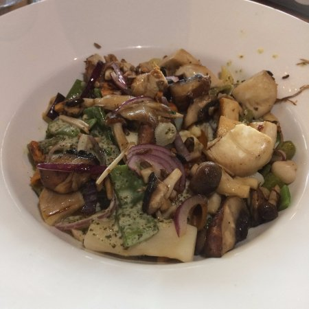 Bruinisse, Нидерланды: Bowl Pasta Paddenstoelen