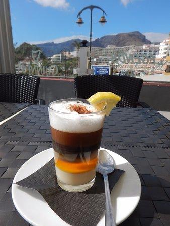 Hotel Bahia Flamingo : kanaryjska smaczna kawa - barraquito
