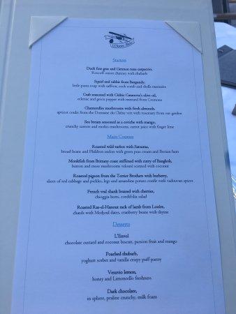 fixe price menu picture of l 39 oiseau blanc restaurant paris tripadvisor. Black Bedroom Furniture Sets. Home Design Ideas