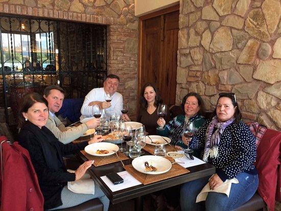 Bodega Renacer: Almoço do Grupo AABB Santo Ângelo em 28/06/2017