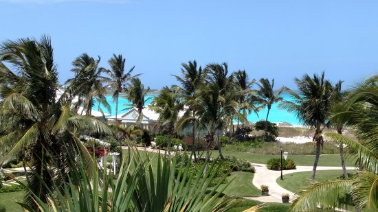 Sandals Emerald Bay Golf, Tennis and Spa Resort: 3rd floor view from beach house building #5