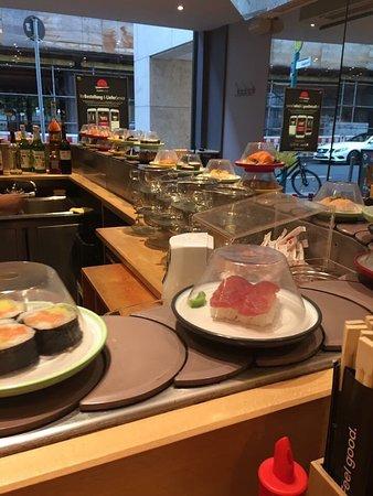 sushi circle frankfurt am main neue mainzer str 84 restaurant bewertungen telefonnummer. Black Bedroom Furniture Sets. Home Design Ideas