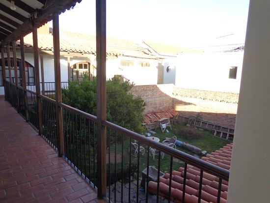 Hostal Condor B&B: el patio