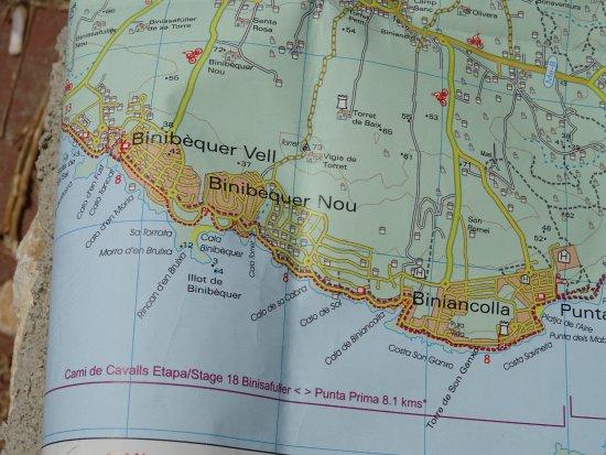 MAPPLATJA DEL AIREPUNTA PRIMASANT LUISMENORCA Picture of Punta