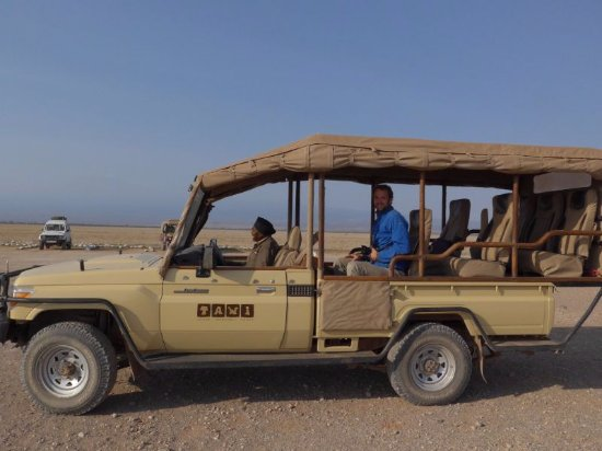 Tawi Lodge: Einer der Jeeps für die Safari im Amboseli-Nationalpark