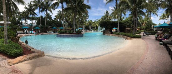 Hyatt Coconut Plantation: zero depth entry pool