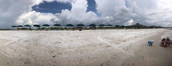 Hyatt Coconut Plantation: Private Hyatt beach accessible only by boat