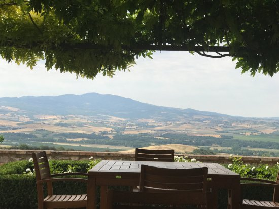 Castello Banfi - Il Borgo: View from the Rosa Regale room
