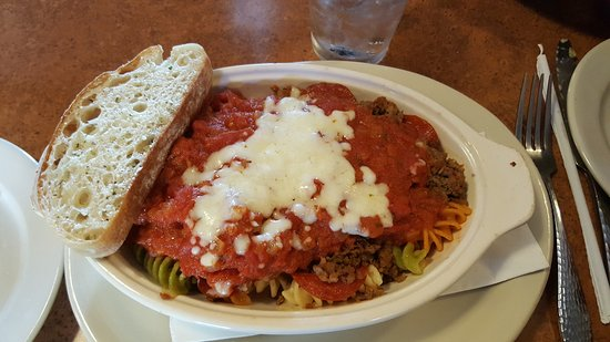 Cicero, IN: My baked pasta dish
